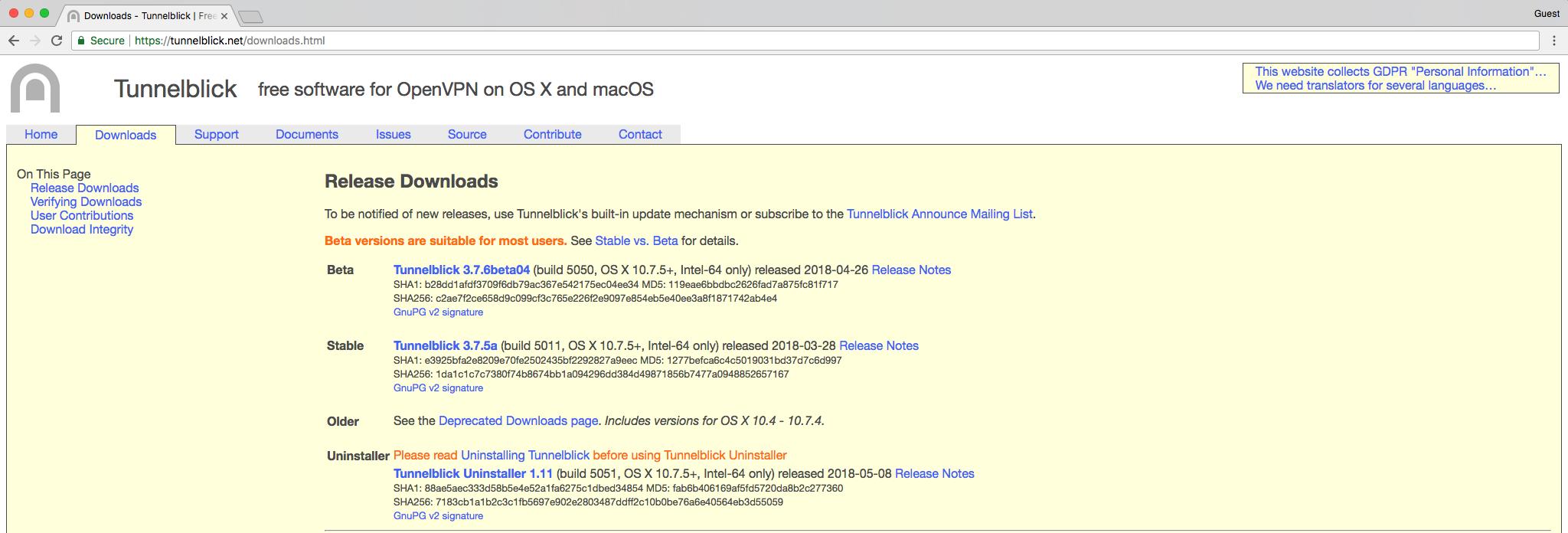 Cloudify Labs VPN Configuration Guide - cloudify
